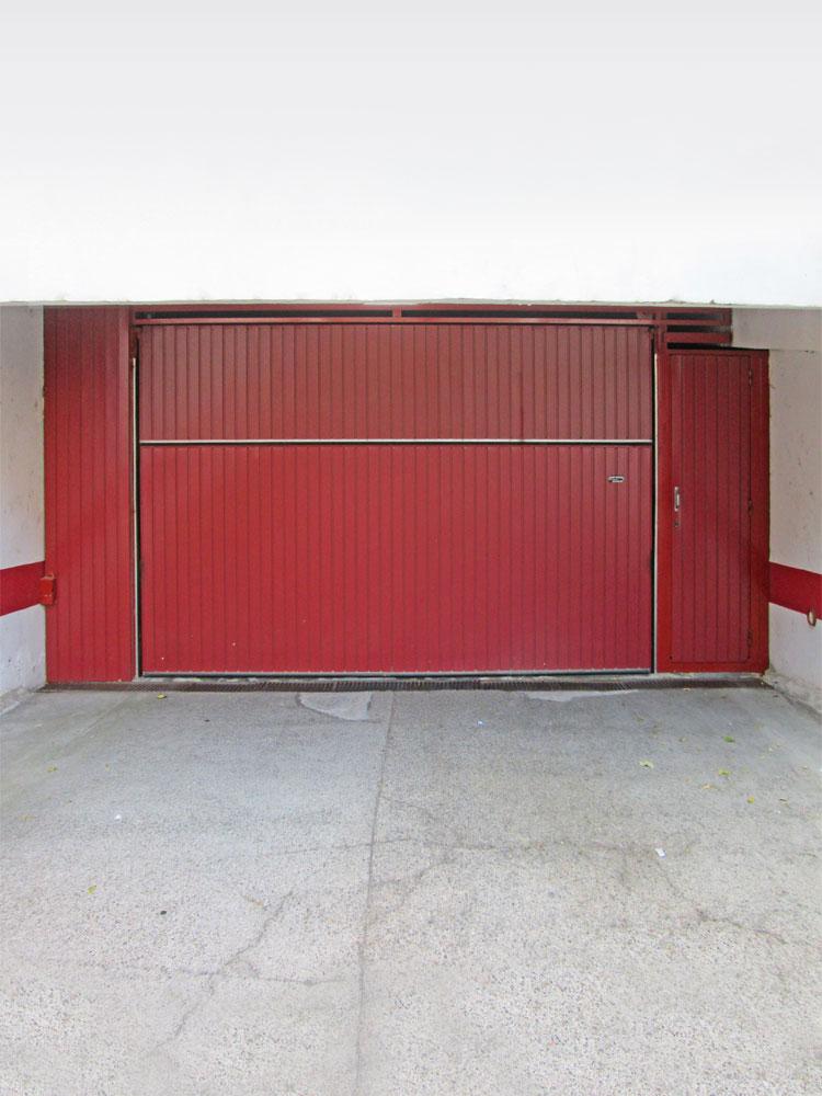 Puertas industriales y de garaje basculantes